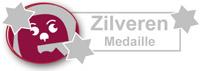 Zilveren medaille wijngekken.nl