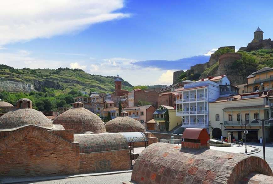 Tbilisi sulphur baths | Ghvino.nl