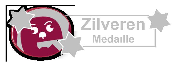 Ghvino.nl | Wijngekken.nl zilveren medaille